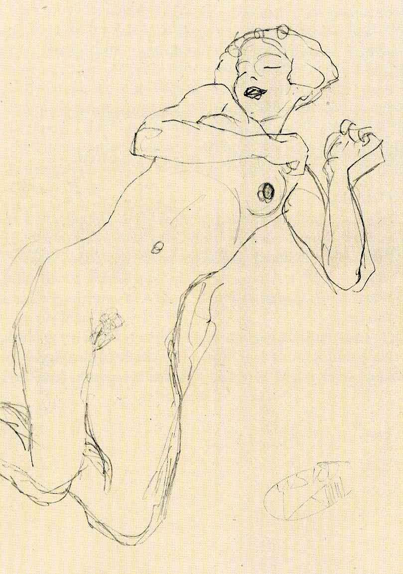 Gustav Klimt erotica sensual17