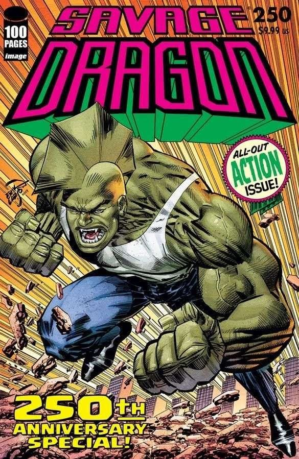 Image Comics celebrates Savage Dragon #250 with a 100-page Super Spectacular
