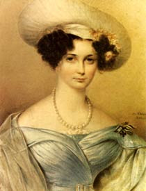 Portrait of Countess Auguste von Harrach