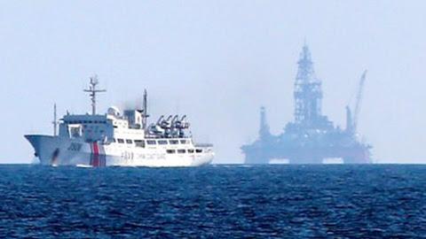 TQ, giàn khoan, Biển Đông, Hoàng Sa, Nhật Bản, chủ quyền, CNOOC, dầu khí