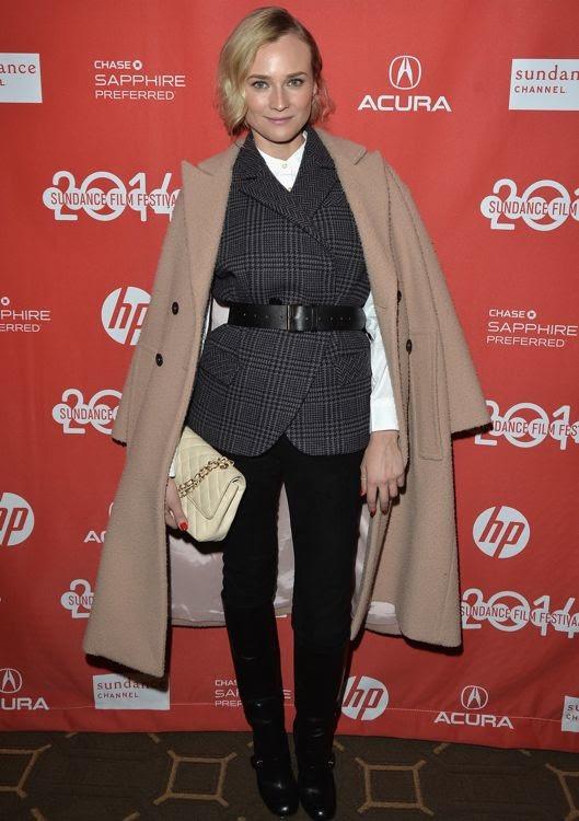 Diane Kruger at the 2014 Sundance Film Festival Premiere of The Better Angels