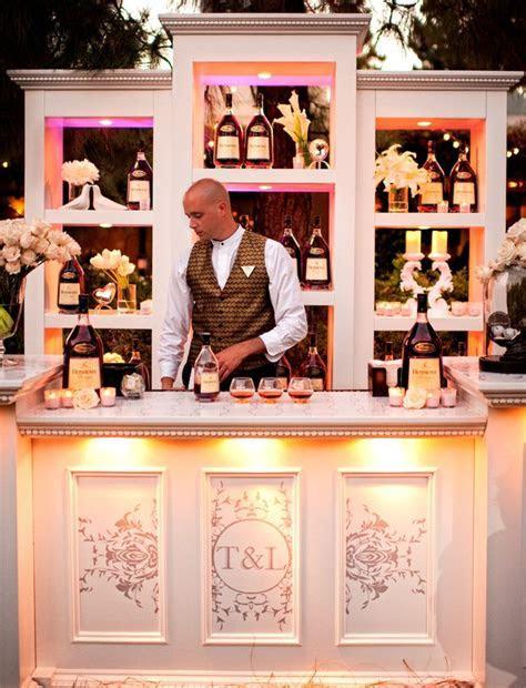 WEDDING Cocktail Hour Decor ~ Bar Set Up   Wedding ideas
