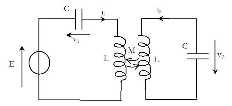 circuits coupl u00e9s par inductance mutuelle