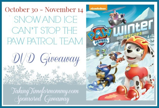 snow and ice can 39 t stop the paw patrol team dvd giveaway jamericanspice. Black Bedroom Furniture Sets. Home Design Ideas