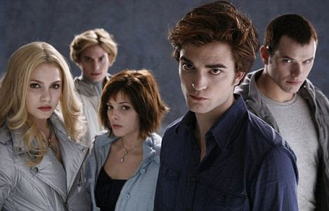 Twlight: As Alice Cullen (third from left) in the film which made her a star