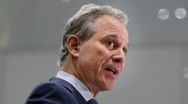 New York Attorney General Schneiderman resigns after accusations of abuse of women