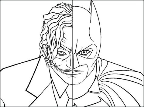 batman  joker coloring pages  getcoloringscom