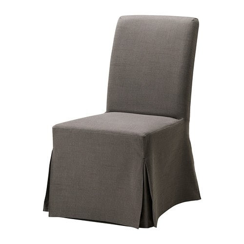 HENRIKSDAL Chair with long cover IKEA