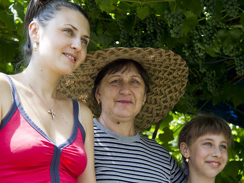 Strangers in Ukraine - family