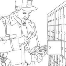 Dibujos Para Colorear Profesiones Y Oficios Eshellokidscom
