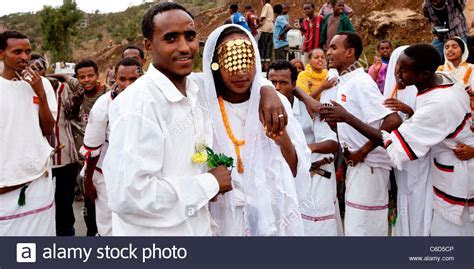 Traditional Oromo wedding celebrations taking place on the