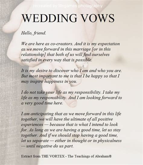 Others: Sensational Non Traditional Wedding Vows Ideas