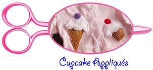 cupcake Appliqués free