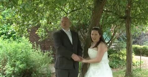 UK Couple Have The Best Wedding Entrance Ever