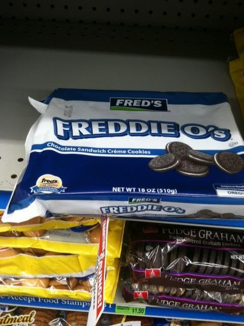 I was looking for Oreos…