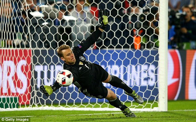 Manuel Neuer was the hero for Germany and produced two impressive saves for his side in the shoot-out