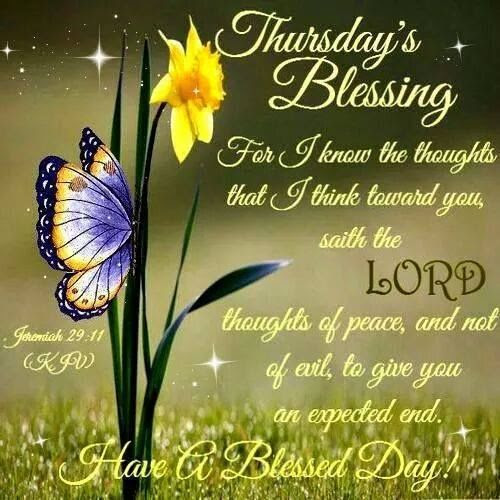 Thursday Blessings With Bible Verse Pictures Photos And Images For