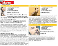 A Sunday report about Tarkan from Turkish newspaper Takvim