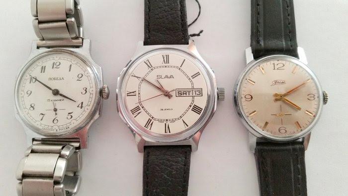 Resultado de imagen de Pobeda (relojes)