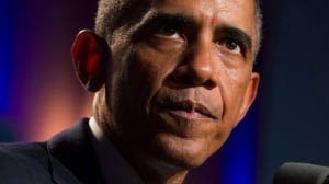 "U.S. President Barack Obama said that support from both Republicans and Democrats ""shows the world that Americans are united"" in combating the Islamic State group."