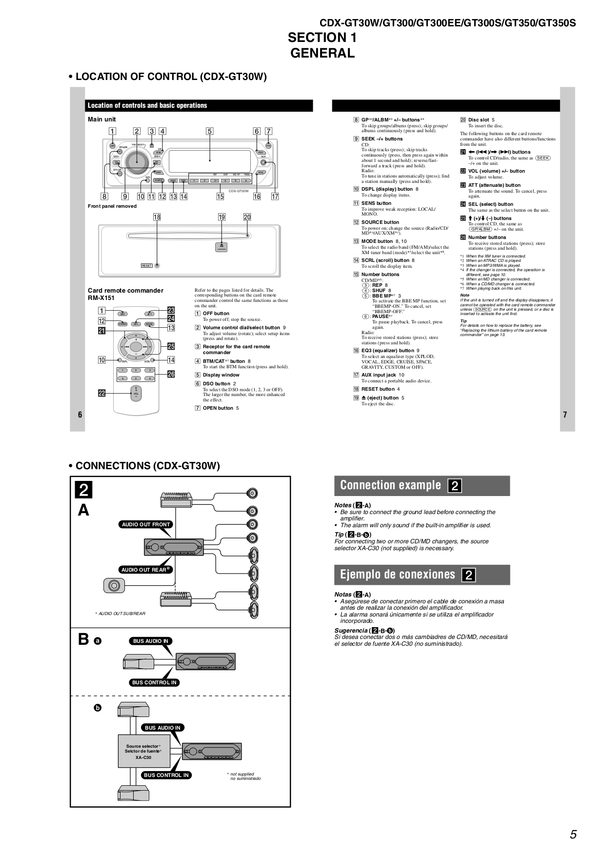 Sony Cdx Wiring Diagram