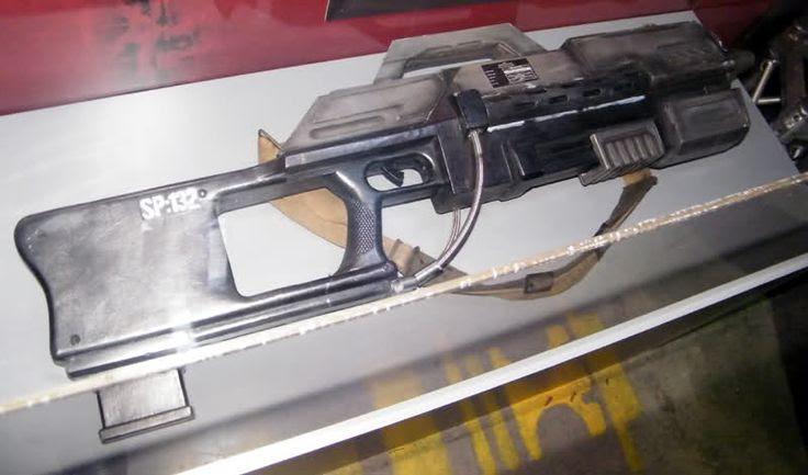 Rose Tyler gun - can modify a Nerf Stampede or Nerf Vulcan