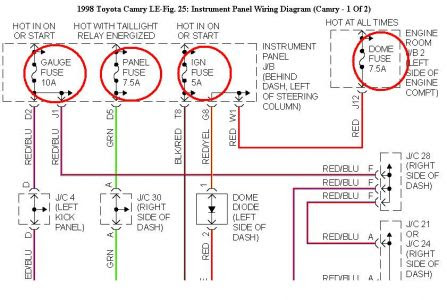 1996 Toyota Camry Ignition Wiring Diagram ~ Wiring Diagram ...