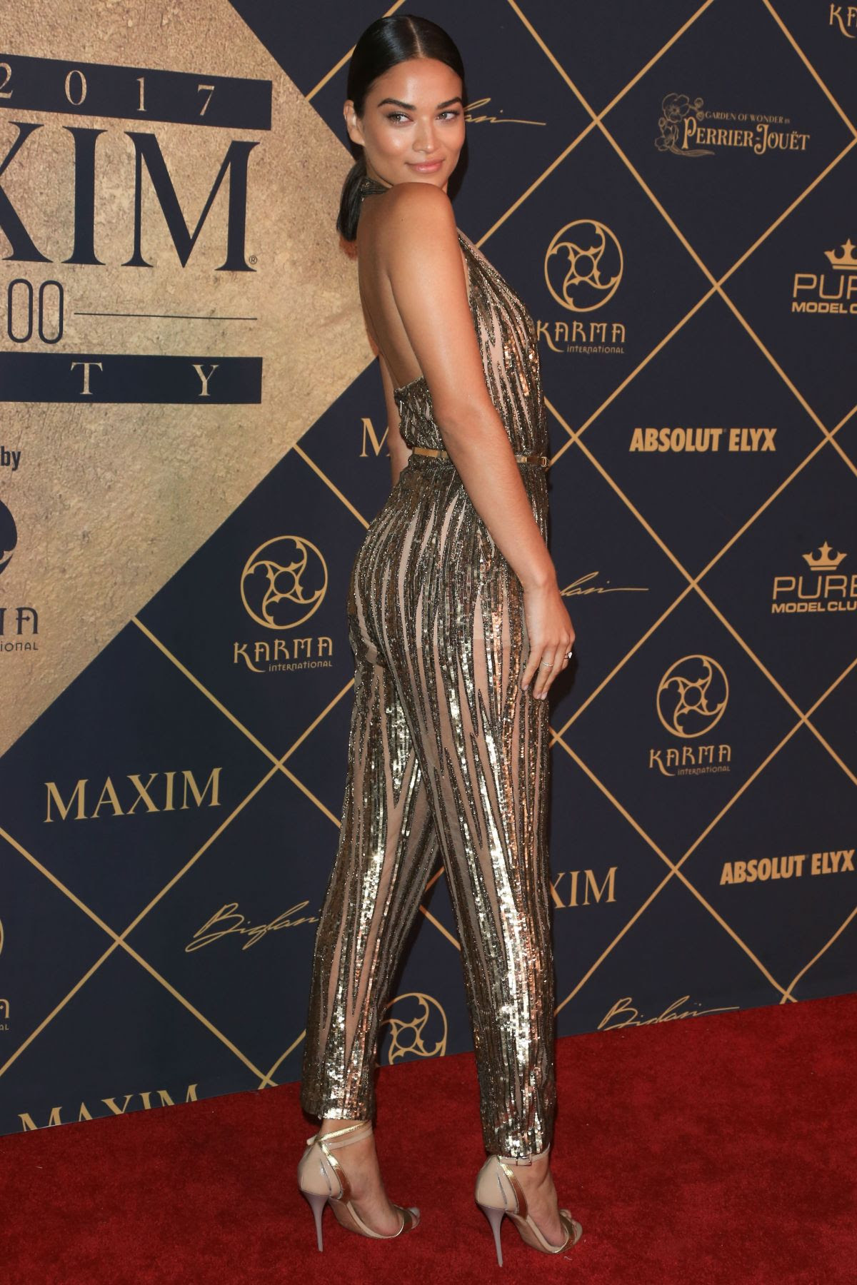 SHANINA SHAIK at Maxim Hot 100 Party in Hollywood 06/24/2017