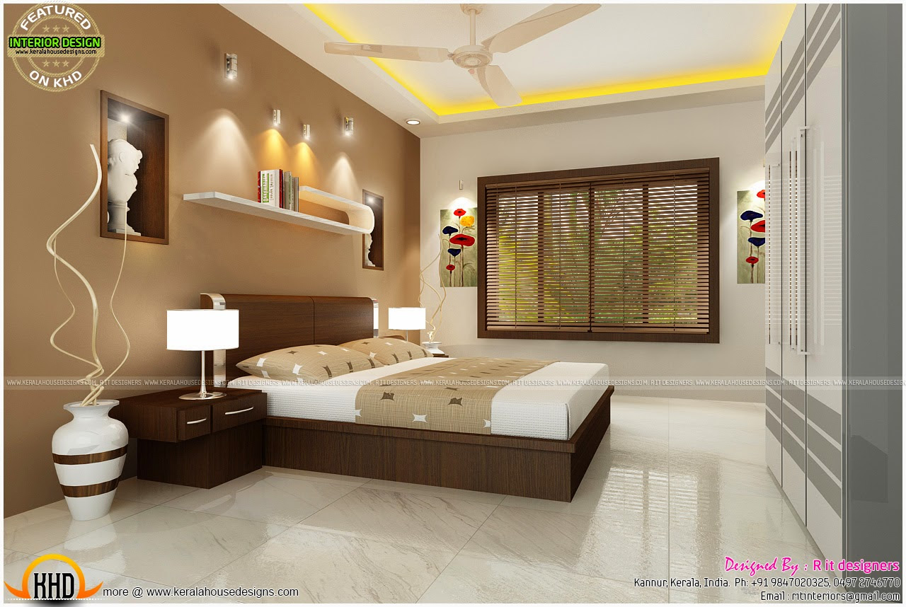 Bedroom Home Interior Design Master Bedroom Designs Kerala Home