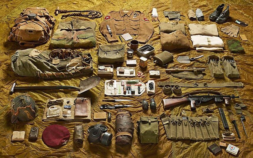 battlegear10 Полное боевое снаряжение британских солдат от 1066 до 2014 года