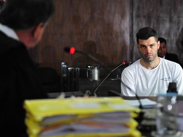 Tiago Henrique, apontado como serial killer de GO (Foto: Divulgação/TJ-GO)