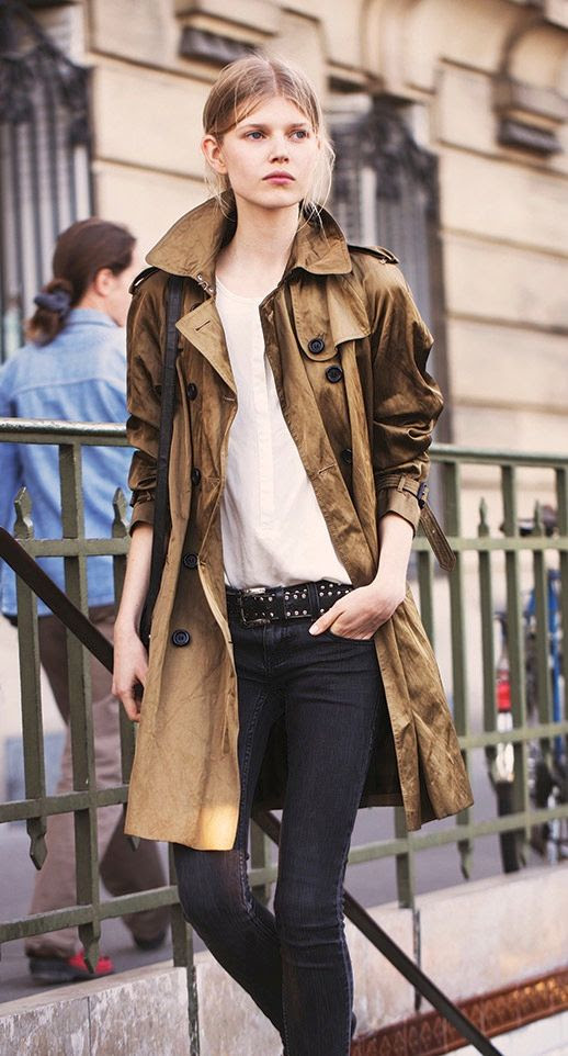 LE FASHION BLOG MUST-HAVE CASUAL TRENCH COAT VIA OLA BURBERRY ART OF THE TRENCH TUMBLR PARKA STYLE TRENCH BLUSH NUDE TOP STUDDED BELT SKINNY BLACK JEANS STREET STYLE photo LEFASHIONBLOGMUST-HAVECASUALTRENCHCOATVIABURBERRYTUMBLR.jpg