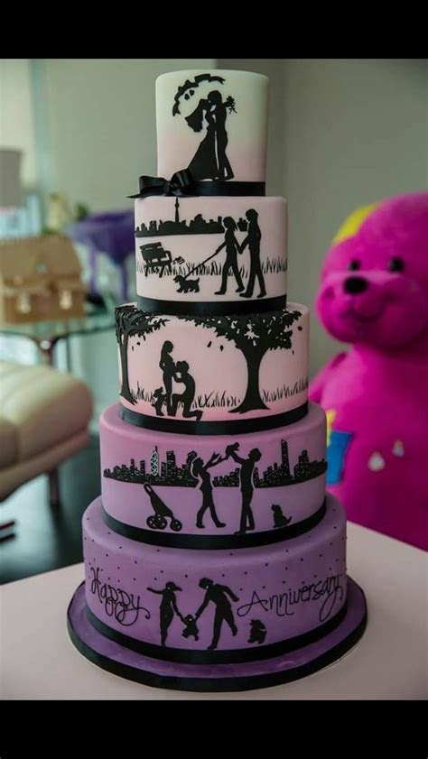 Best Happy Anniversary Beautiful Cake Images   quoteambition