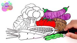 All Clip Of Belajar Mewarnai Sayuran Bhclipcom