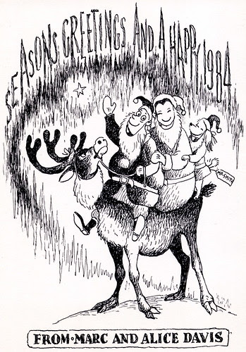 Marc Davis Christmas Card - 1983