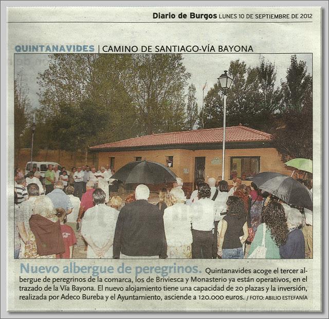 1 Inauguración del albergue de Quintanavides