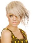 medium hairstyle - Haringtons