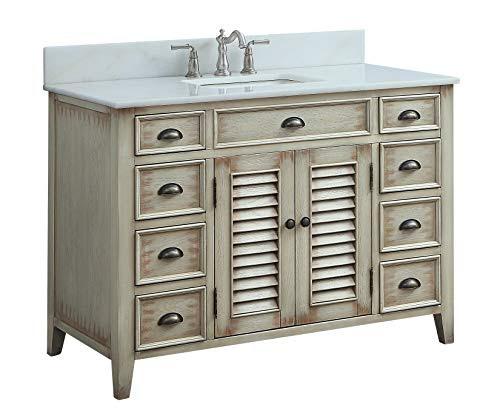 46 Cottage Look Abbeville Bathroom Sink Vanity Model Cf28325