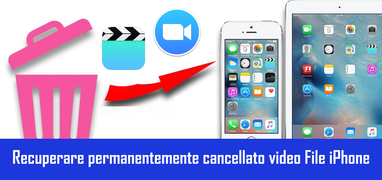 Come Recuperare I Video Cancellati Definitivamente Da Iphone