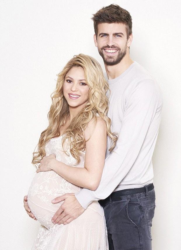 Shakira e Gerard Piqué (Foto: Reprodução)
