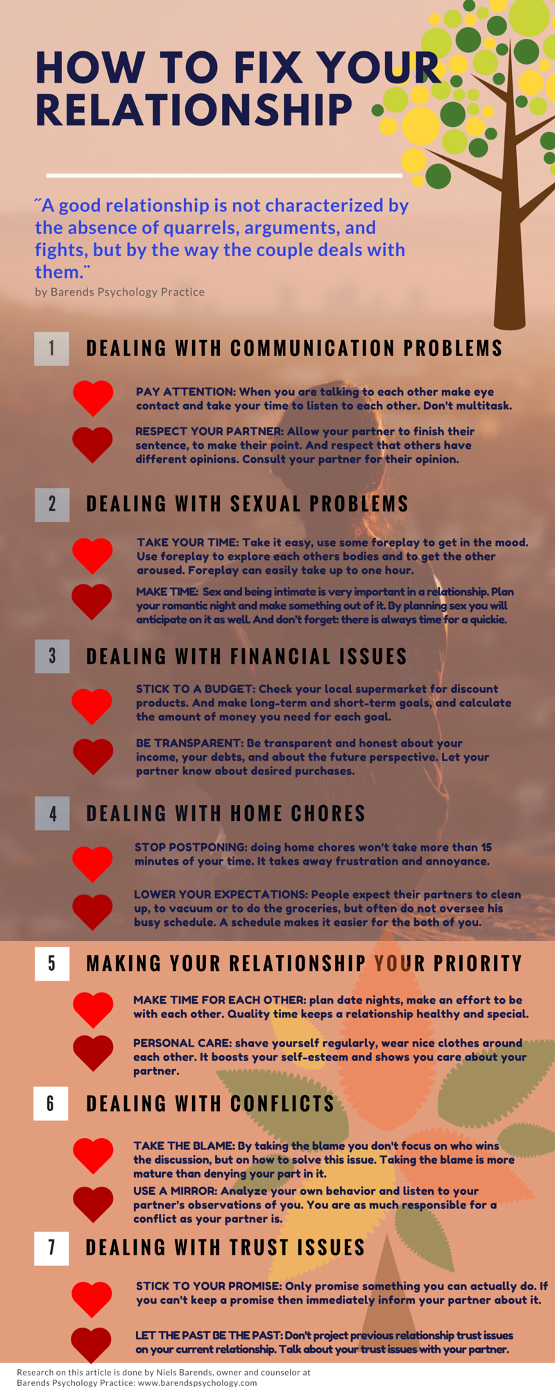 How To Fix A Relationship In Seven Ways Barends Psychology Practice