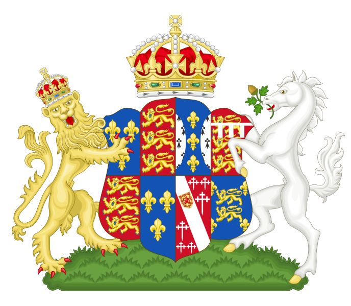 File:Coat of Arms of Catherine Howard.svg