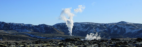 Hot springs, Iceland