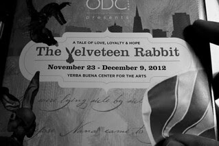 The Velveteen Rabbit - Program book