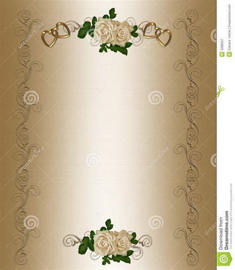 Wedding Invitation Layout Templates