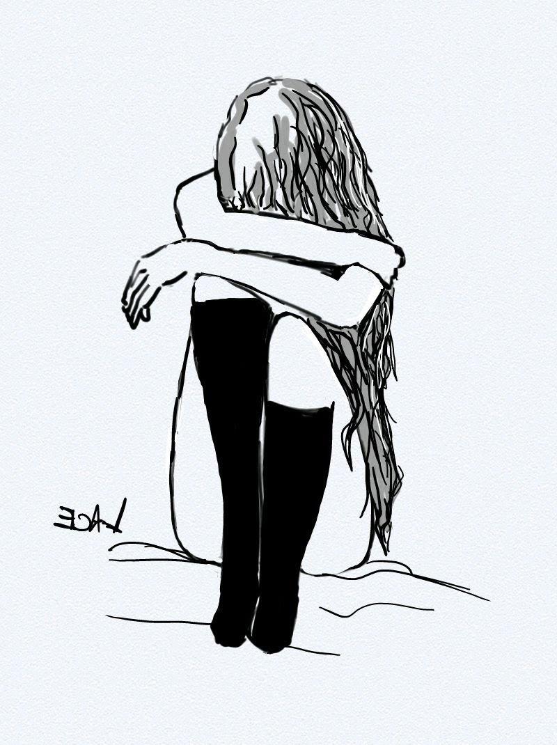 Sketches Of Sad Girls Tumblr Chelss Chapman