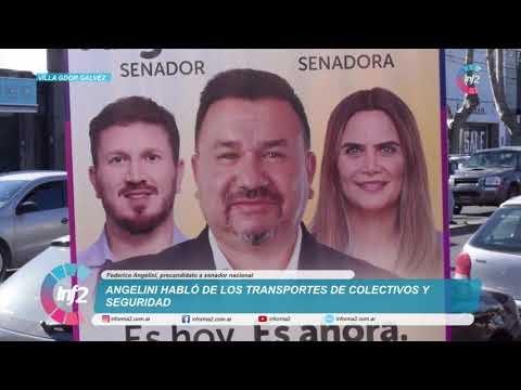Alejandro Camargo presentó lista a nivel oficial acompañado de Federico Angelini