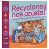 Image couverture livre monsieur madame devant échoppe avec objet recyclés
