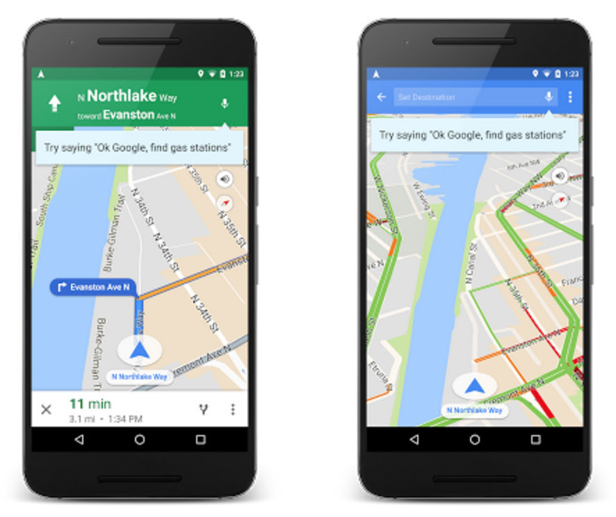Google Maps Adds Hands Free Voice Input To Make Driving
