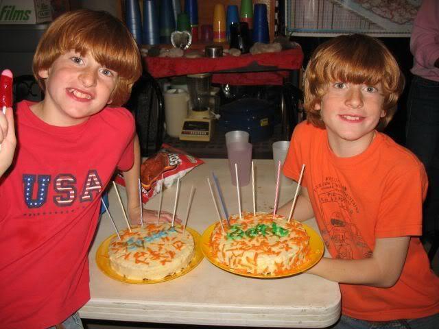 Happy Birthday Jessee and Seth!